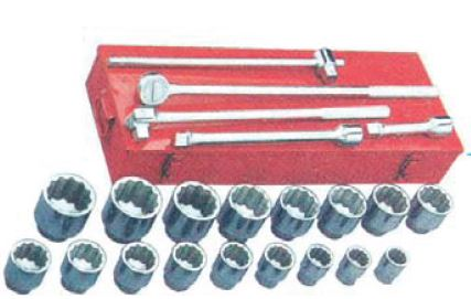 1″ DRIVE SOCKET SET | Allinton Engineering & Trading
